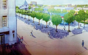 Las Cruces Councilors OK Final Design For Civic Plaza