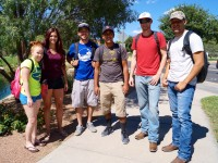 Animal Science students at NMSU on their last year