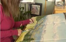 Julie Caffee-Cruz: Disease didn't stop her from creating art