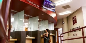 Photo by Jesús A. Rodríguez   Despite being an affordable university, NMSU has had trouble with cohort default rates in recent years.