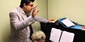 NMSU opera singer hits his high note