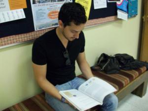 Oscar Rodriguez, NMSU business management major. By Yaheli Montelongo