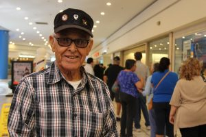 Veteran Ernesto M. Torres has always done early voting, he is anxiously to vote on Oct. 24.