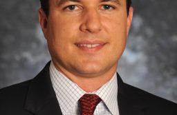 NMSU men's basketball head coach Paul Weir. (Photo by Darren Phillips)