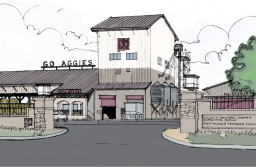 Funding from GO Bond D will be used to create an Animal Nutrition and Feed Manufacturing Facility that would consolidate feed manufacturing on campus to be more efficient and cost effective. (Rendering courtesy of Parkhill, Smith & Cooper)