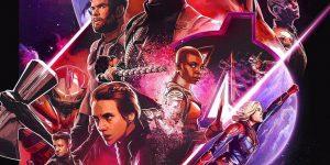 """Official """"Avengers: Endgame"""" movie poster. (Image courtesy of Marvel Studios)"""