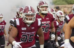Aggies fall to San Diego State in home opener