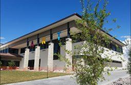 New art building shines, despite lingering construction