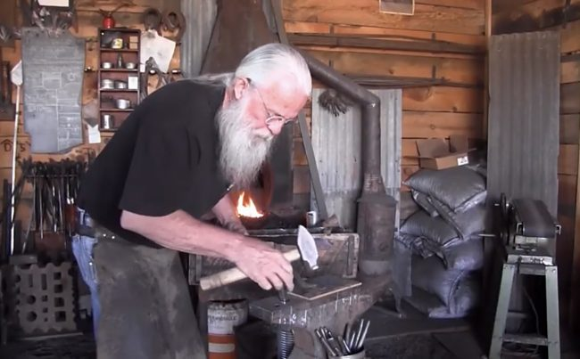 Local blacksmith makes a living doing what he loves