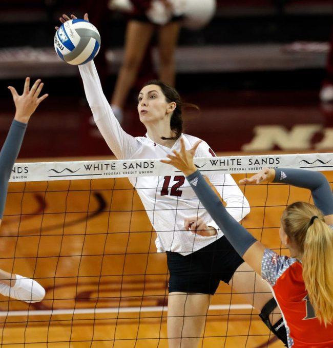 NMSU women's volleyball dominating WAC