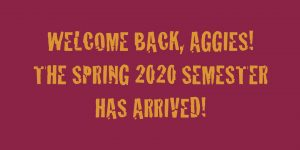 Welcome back, Aggies!