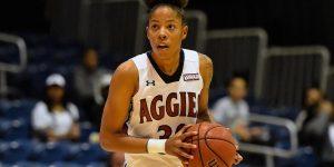 Aggie women's basketball seals top spot in WAC regular season
